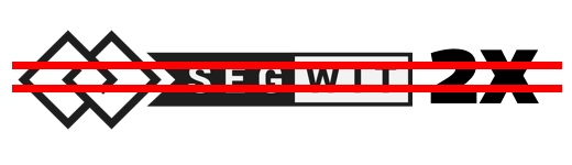 Segwit2xが中止に(終値 ¥850,000)