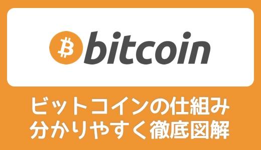 【誰でもわかる】ビットコイン(bitcoin)の仕組みを分かりやすく図解